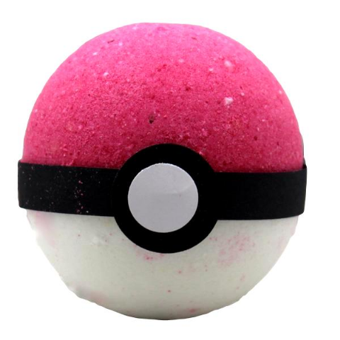 Katch Em Ball Bath Bomb With Pokemon Figure Inside